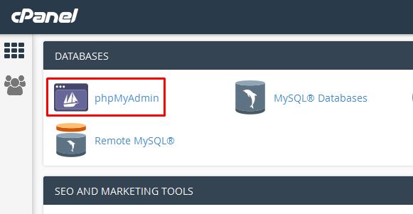Cara import database MySQL