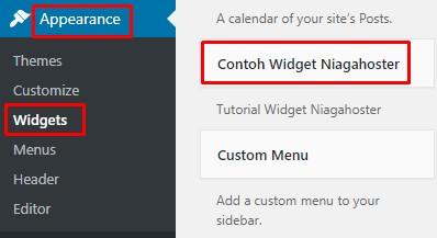 widget wordpress kustom