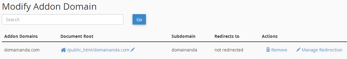 modifikasi addon domain