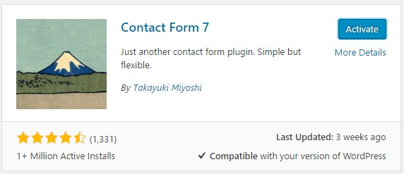 membuat form kontak