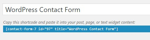 form kontak di wordpress