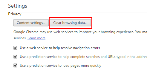 hapus history browser