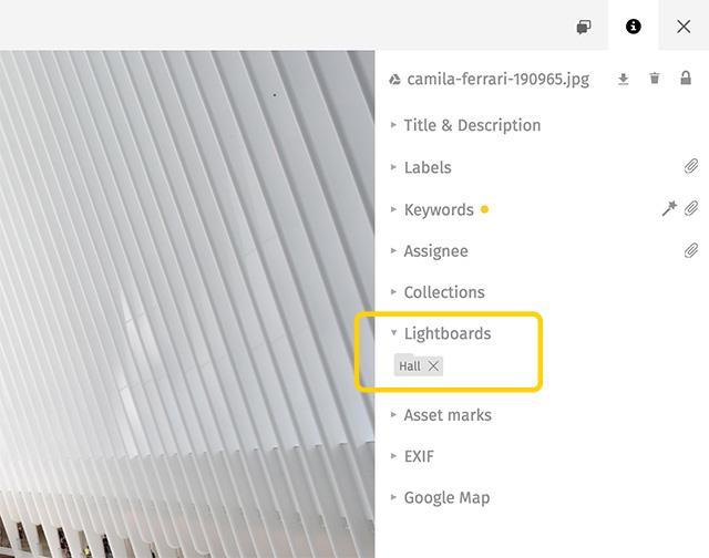 Lightboards on Infopanel