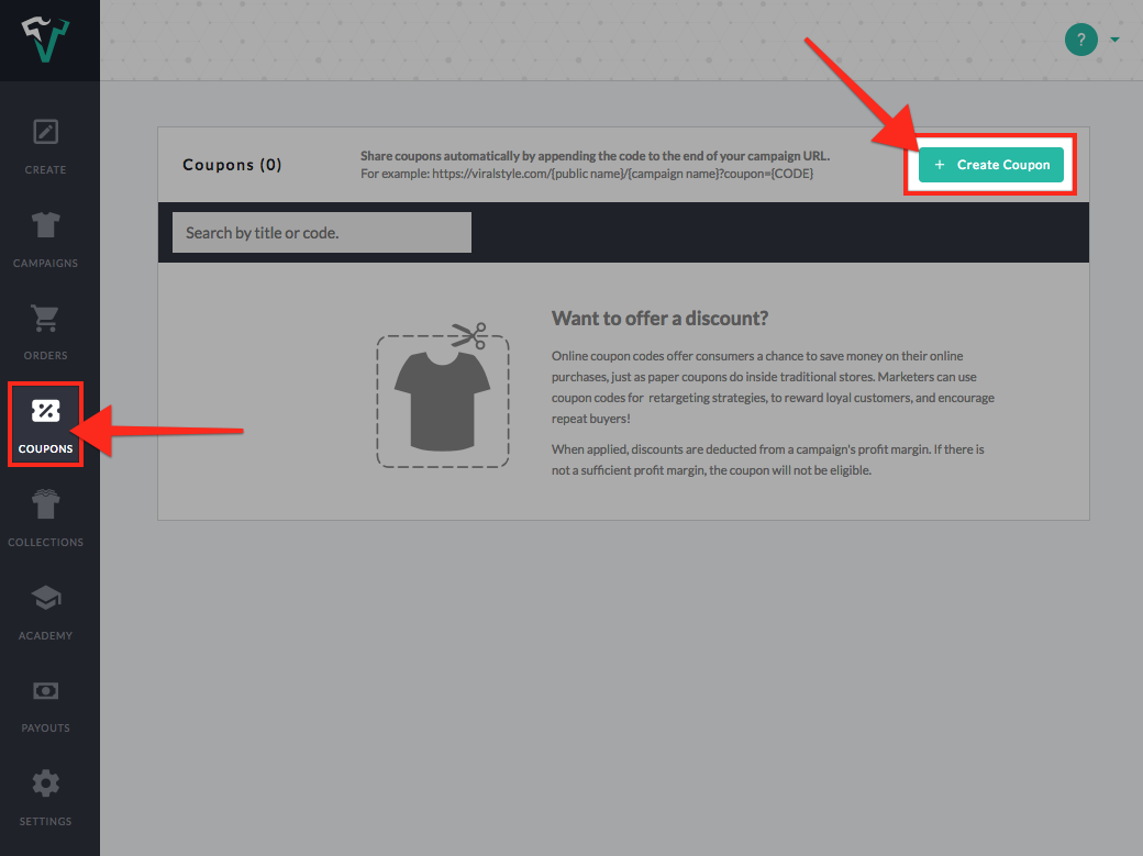 coupons and codes viralstyle help center