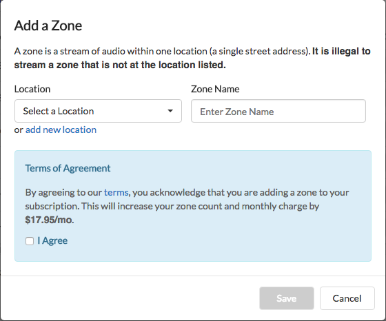 How To Add A Zone Cloud Cover Music Help Center