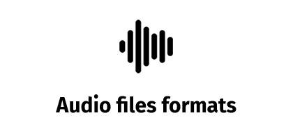 Audio file formats