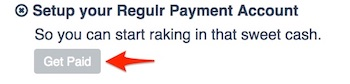 Set up your Regulr payment account