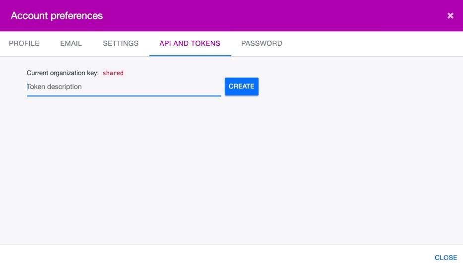 Ardoq Zapier generate API token