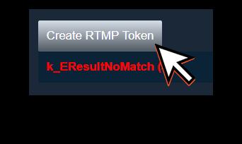 Create an RTMP token
