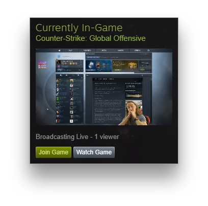 Streaming to Steam with Restream
