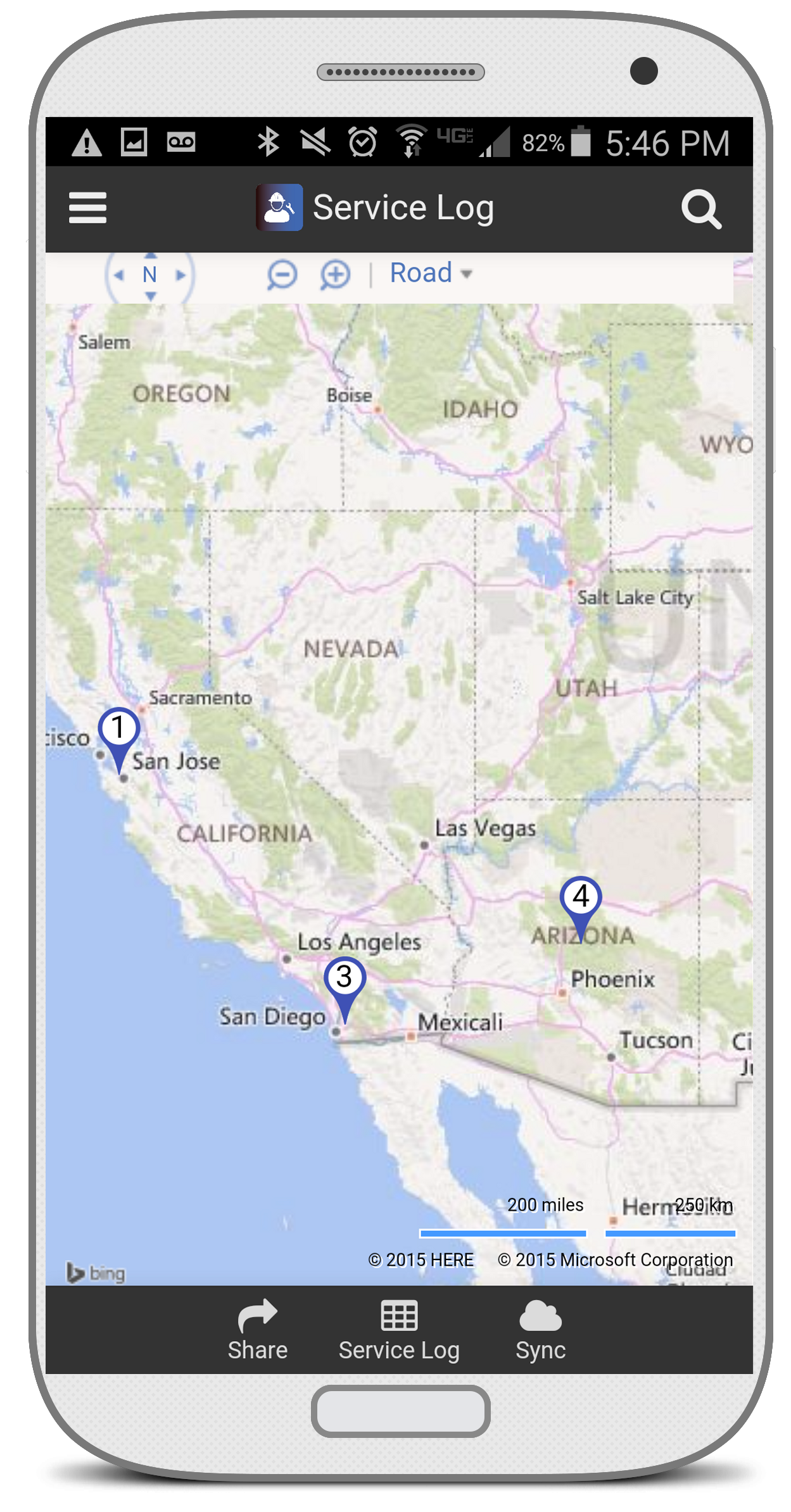 Working with Maps   AppSheet Help Center