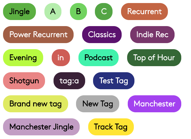 Example tags.