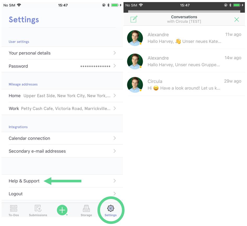 Circula Mobile App