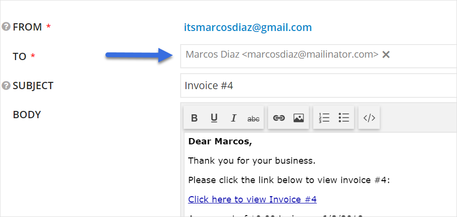 invoicing tutorial practicepanther help center