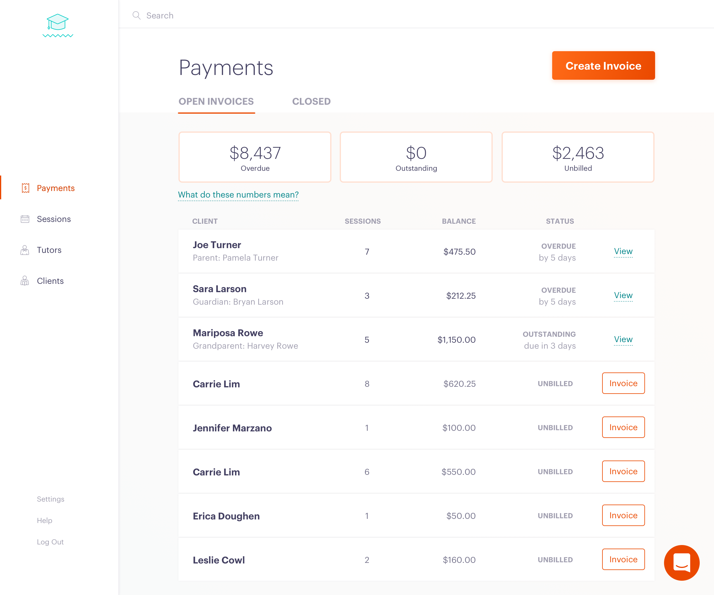 Payments Clark Help Center - How to create an invoice for payment