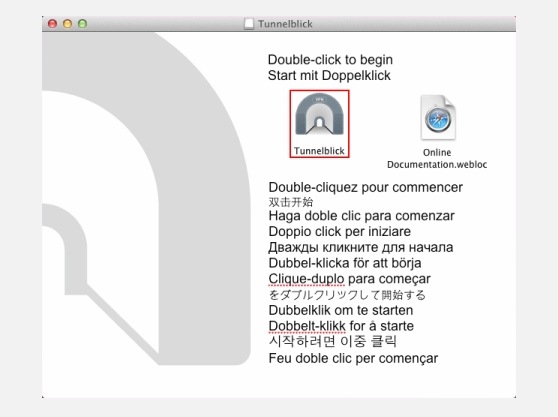 OpenVPN on Mac OS X