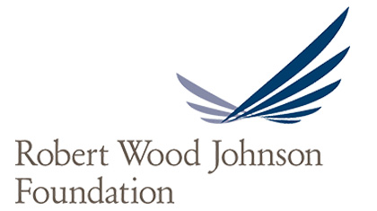Robert Wood Johnson Foundation Logo with a link to the Robert Wood Johnson Foundation Catchafire log-in page