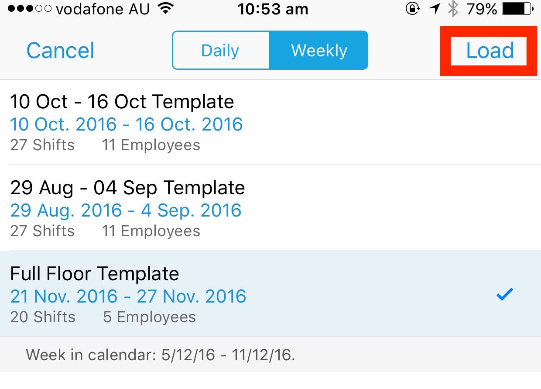 Schedule Templates | Deputy Help Center