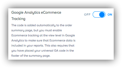 Google Analytics SamCart Ecommerce Tracking
