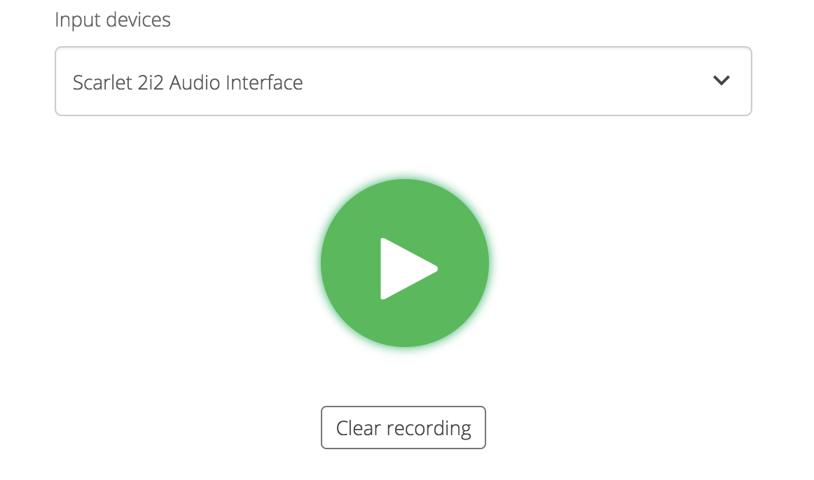 Voice tracking