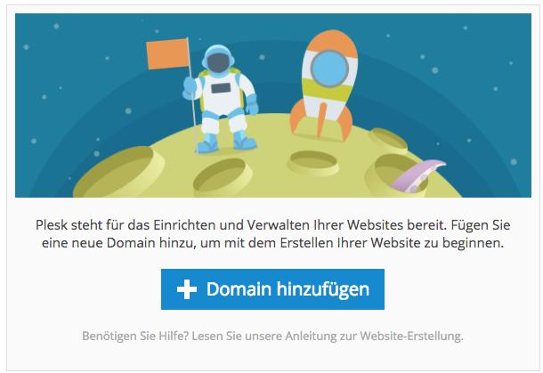 Abonnement / Domain hinzufügen