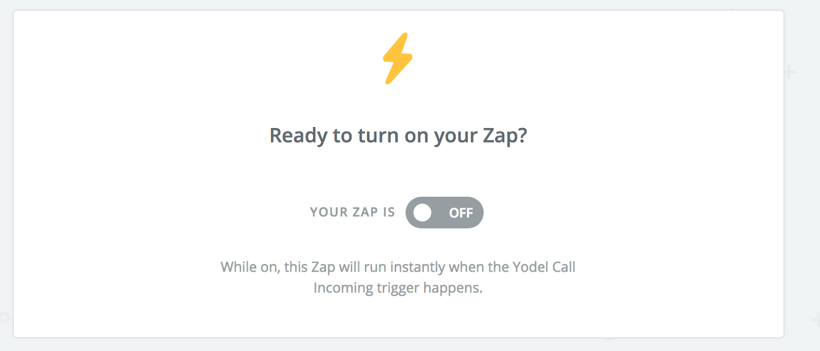 Test Your Zap with Yodel — Hubspot Integration