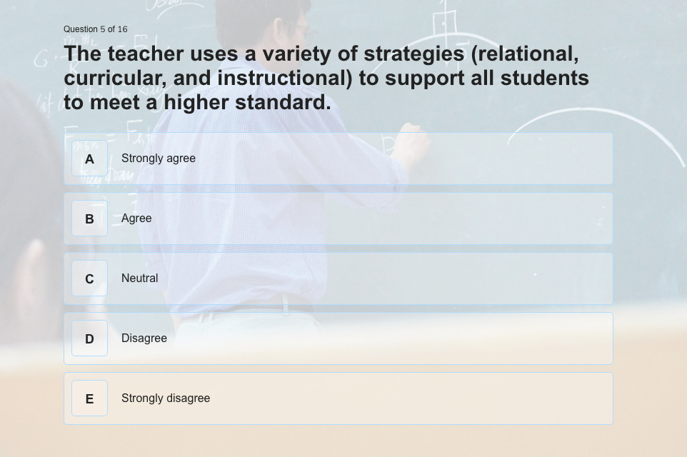How To Make A Reliable And Useful Teacher Evaluation Form Lead