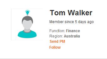 User Activities Profile