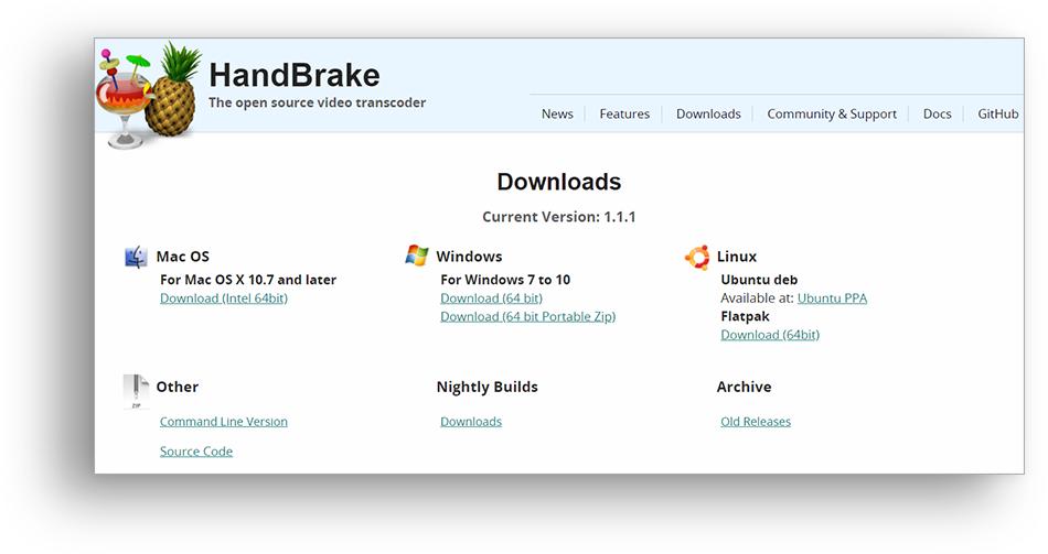 Download HandBrake
