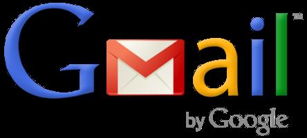 Imagem da logo do Gmail.