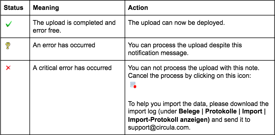 Process and control your import in DATEV Unternehmen online