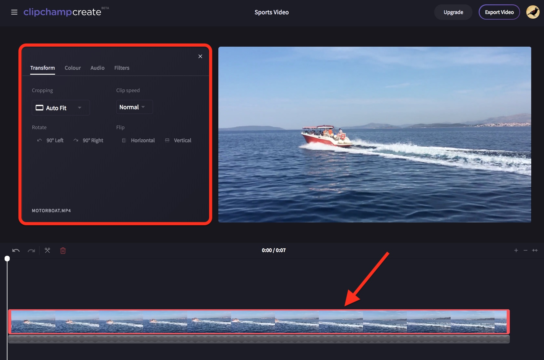 Rotating videos or images clipchamp help center click the 90 left or right buttons ccuart Images