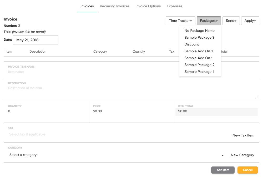 How Do I Send An Invoice Dubsado Help Center - Send invoice using square