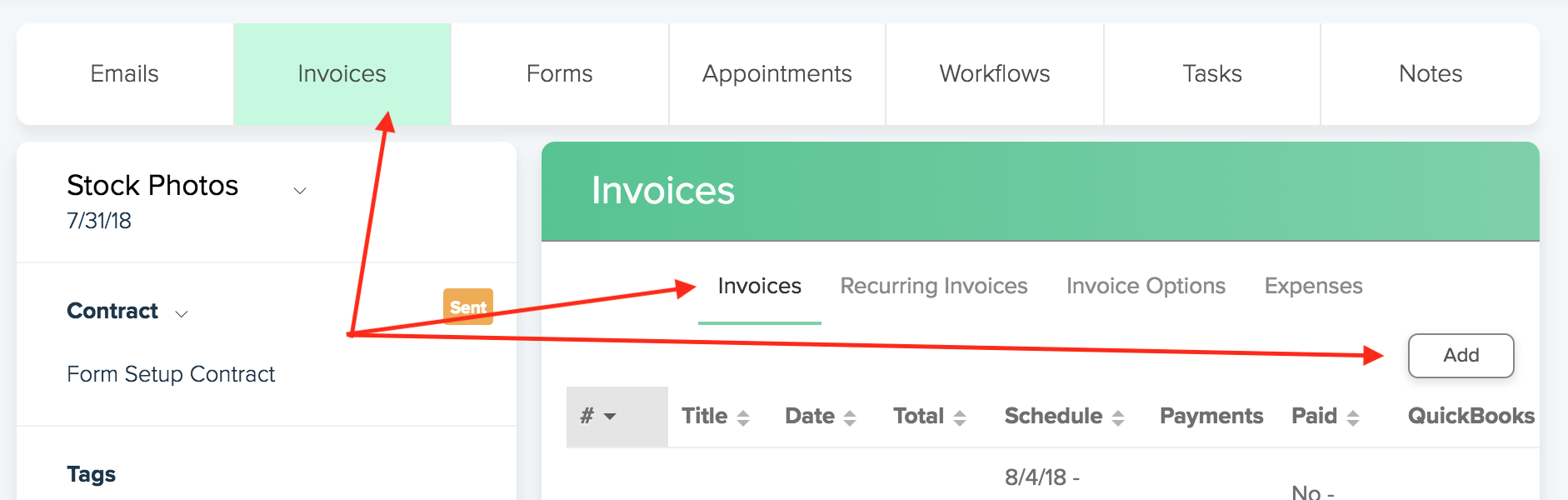 How Do I Send An Invoice Dubsado Help Center - How to do an invoice
