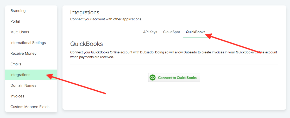 Quickbooks Syncing Dubsado Help Center - Quickbooks invoicing on the go