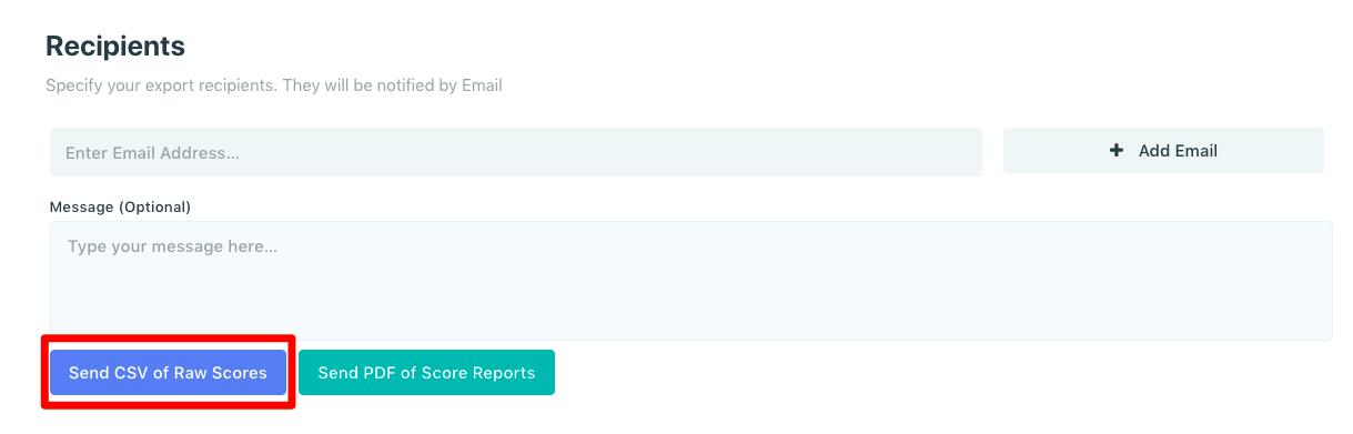 send csv of raw scores