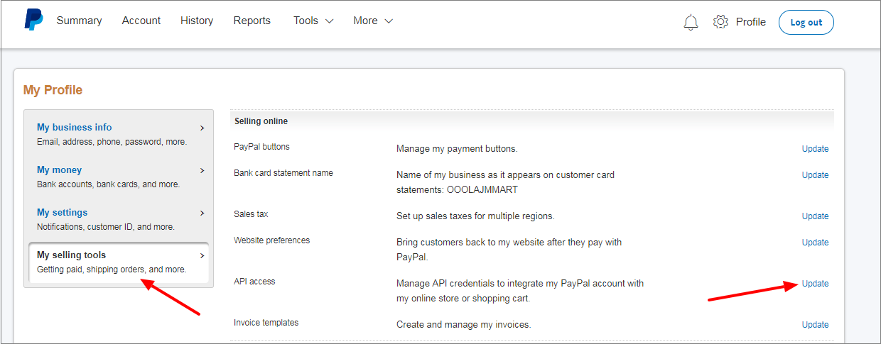 Connecting PayPal Business Account | AliDropship Knowledge Base
