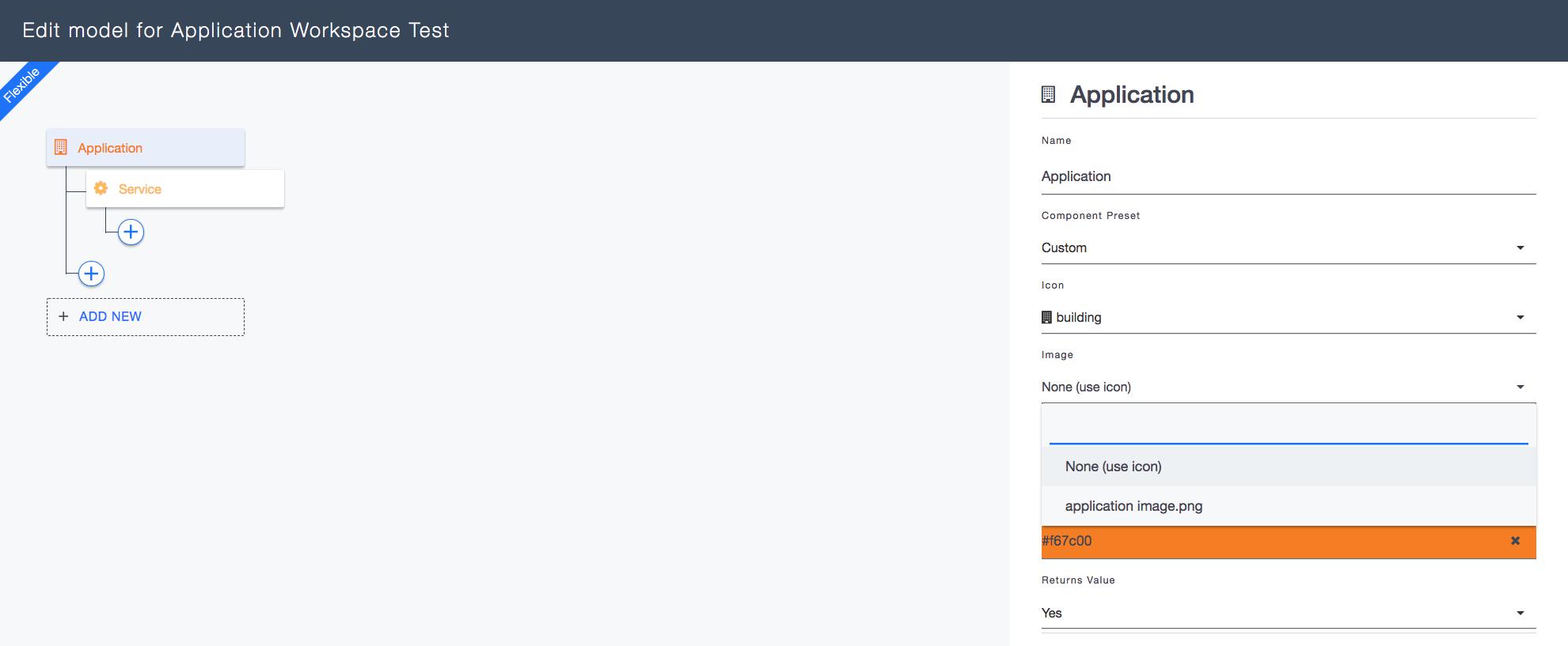 Ardoq application workspace