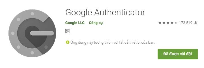 2FA Google Authenticator