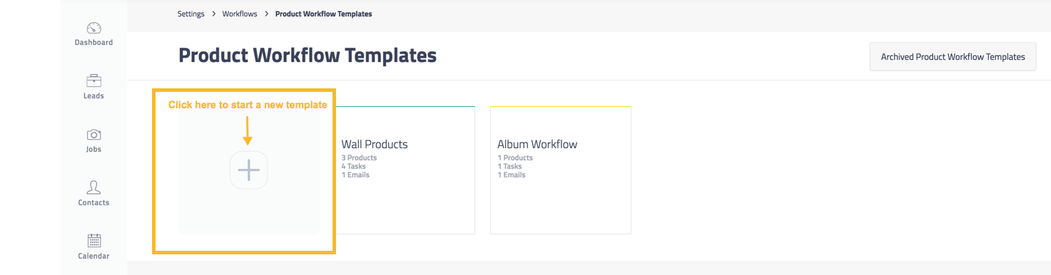 Product Workflow Templates Shootq Help Center