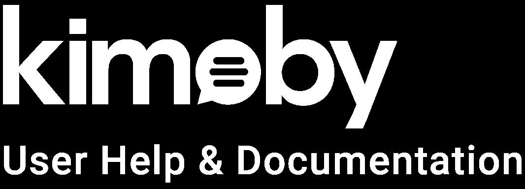 Kimoby Help Center