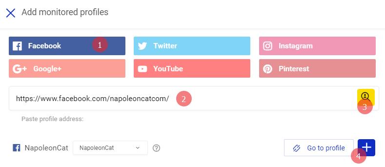adding monitored profiles