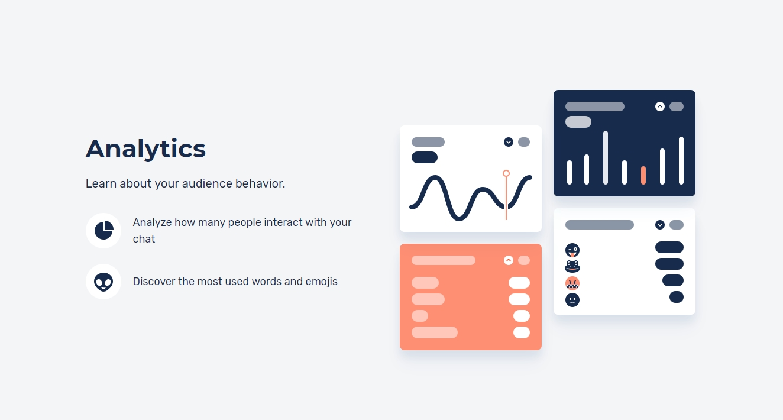 Analytics for Restream Chat
