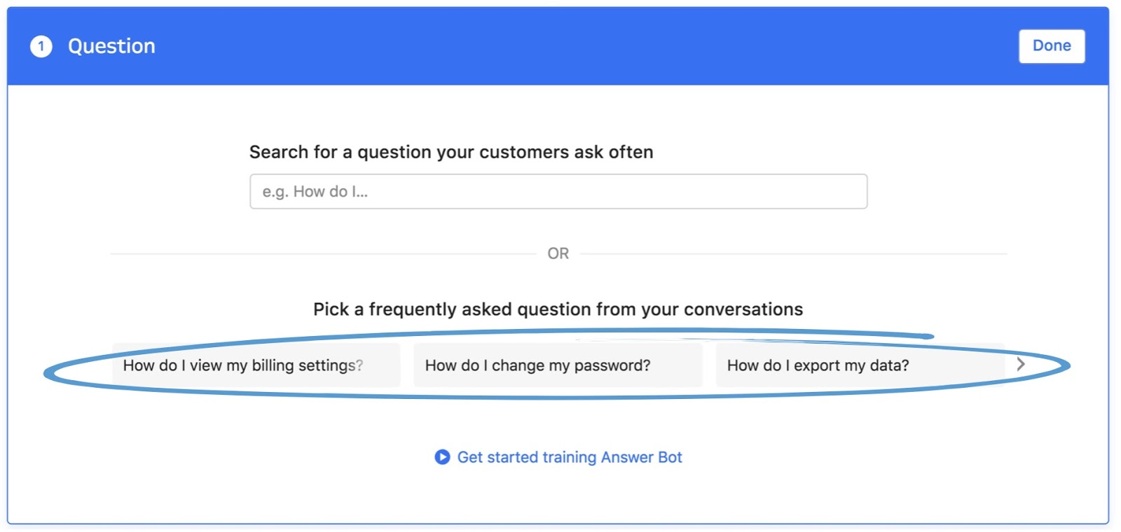 Building your Customer Service Chatbot is easy with Intercom Answer Bot