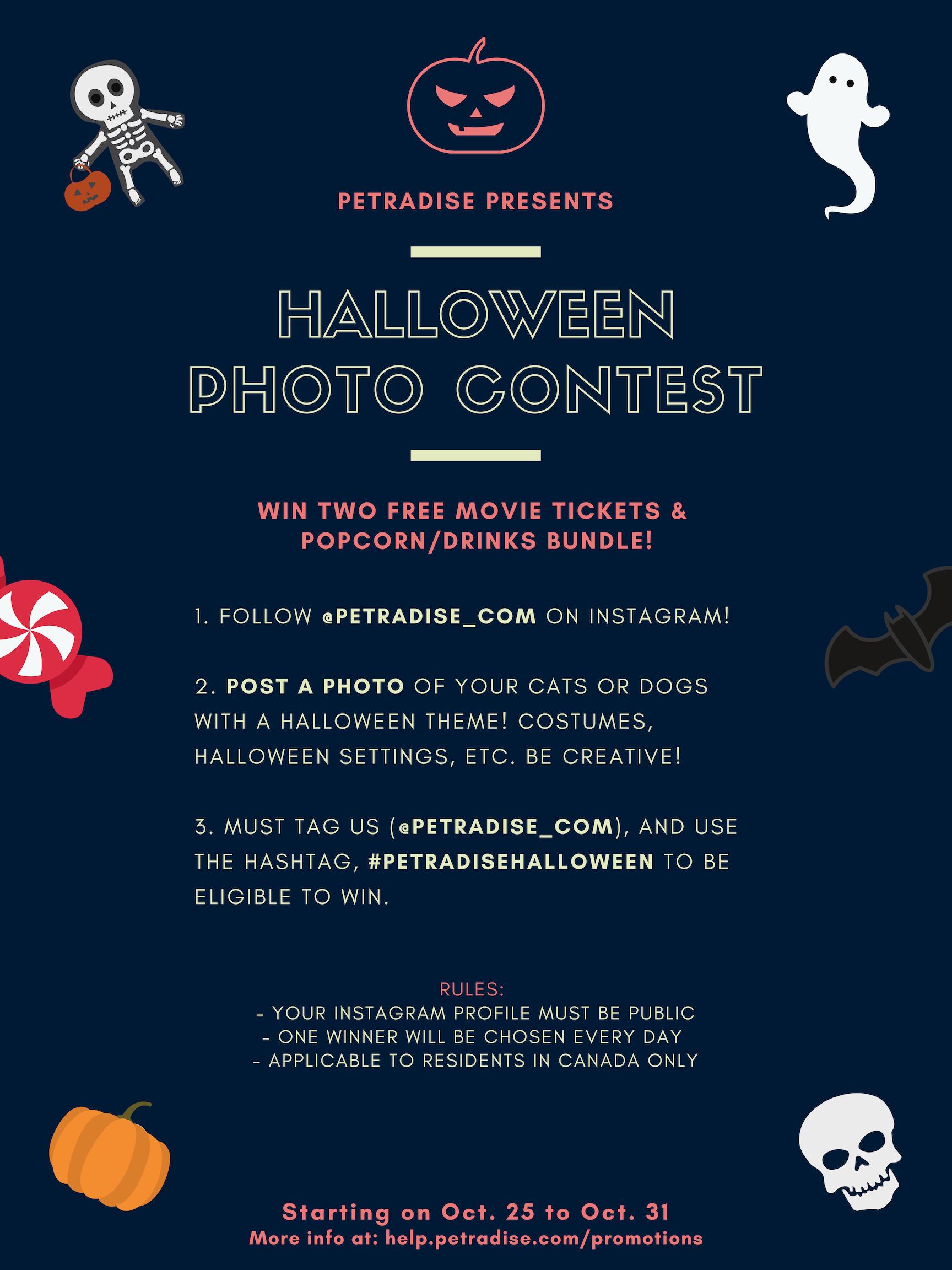 petradise's halloween photo contest | petradise help center