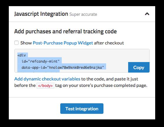 javascript-integration