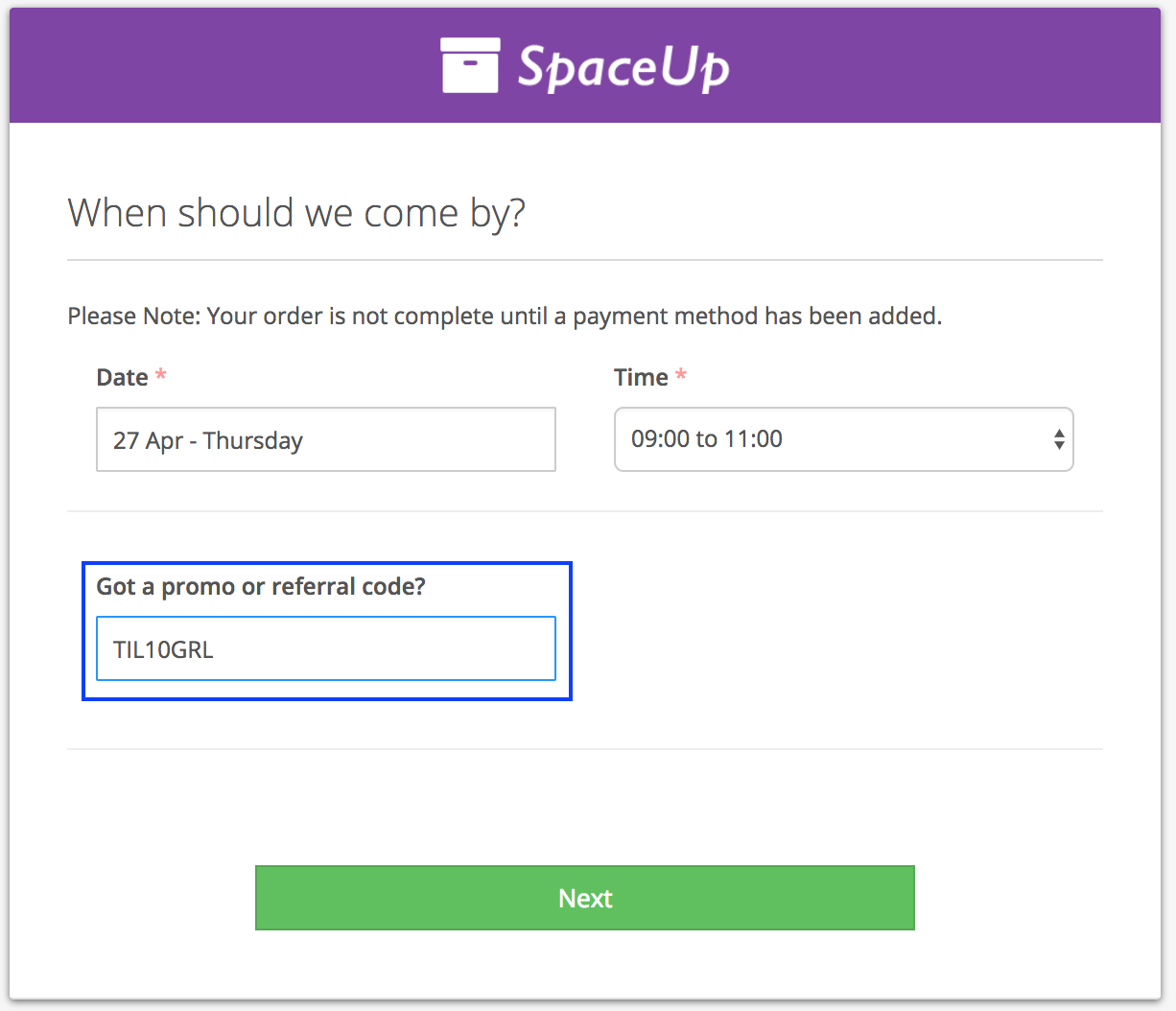 How referral codes work
