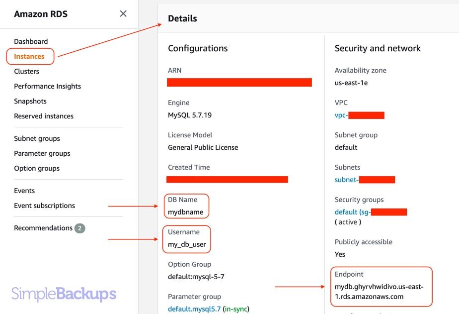 SimpleBackups-RDS-Credentials1.jpg