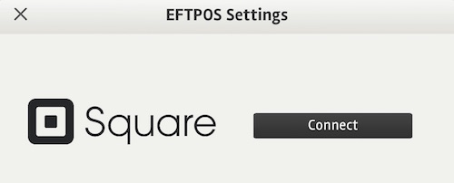 posBoss Eftpos Settings for Square Payments