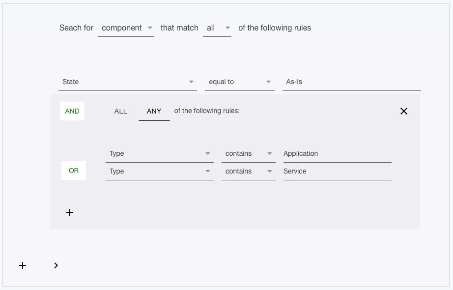 Ardoq search multiple data sets